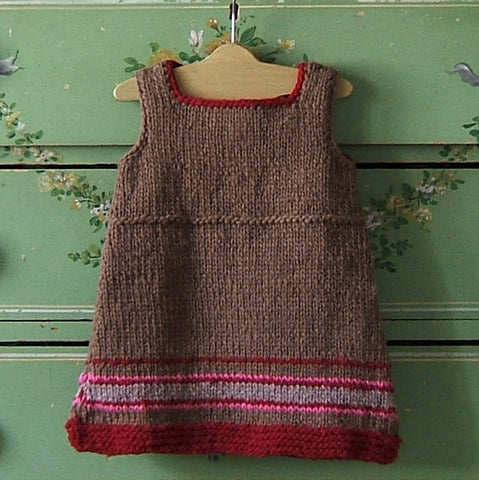 Peruvian Stripe Hand Knit Wool Jumper