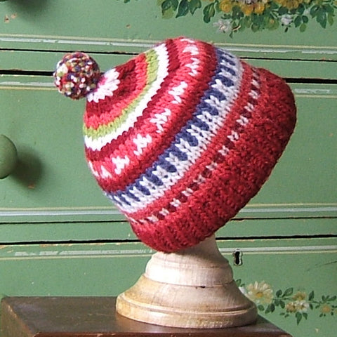 Hot Headed Wool Beanie Hat