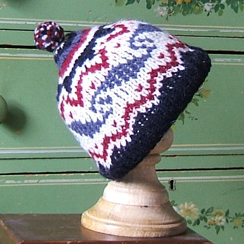Wave The Flag Wool Beanie Hat