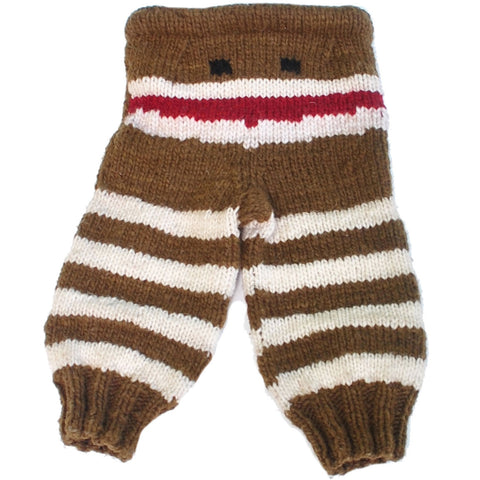 Striped Monster Pants Wool Longies