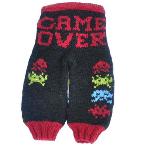 Space Invaders Wool Longies