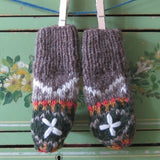 Arctic Circle Wool Mittens