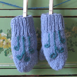 Wool Children's Mittens