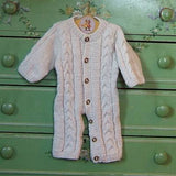 Cream Merino Snuggle Suit