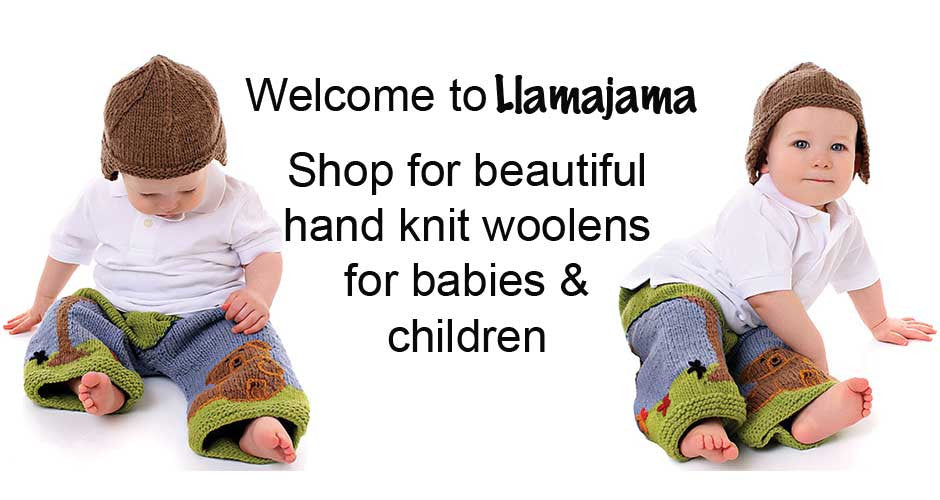 Hand knit wool longies and soakers for cloth diapered babies