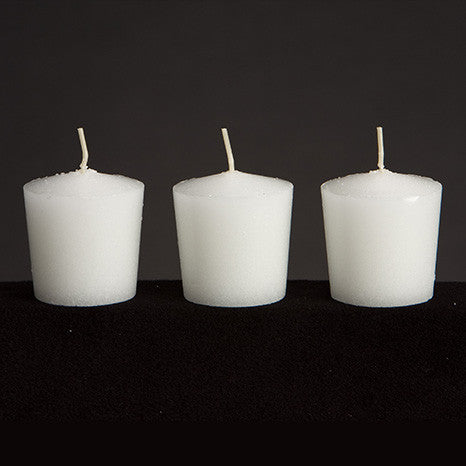 15 Hour Tapered Votive Candles Without Plastic Sleeve