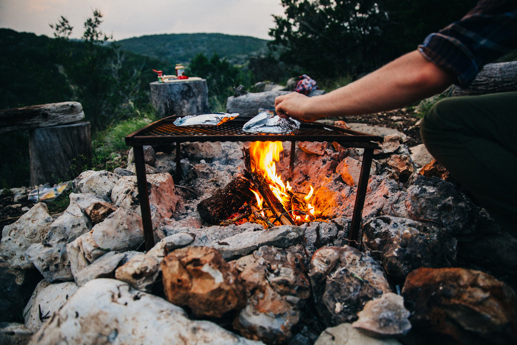 Image result for campfire cooking