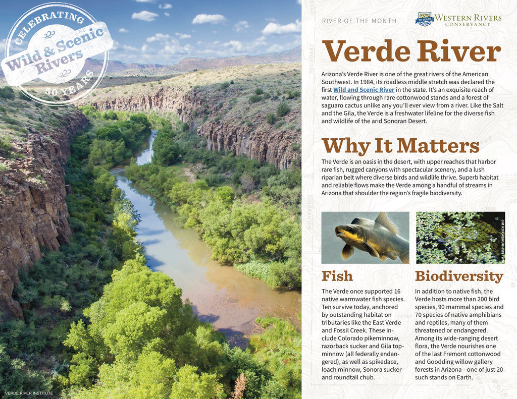 Western Rivers Conservancy Vende River