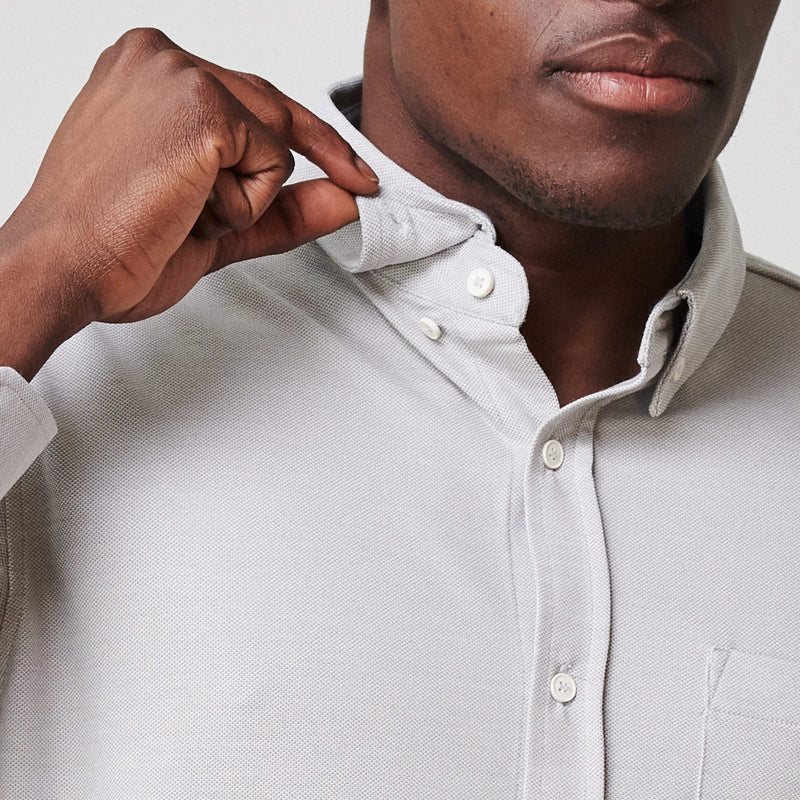 Limitless Merino Button-Down Shirt