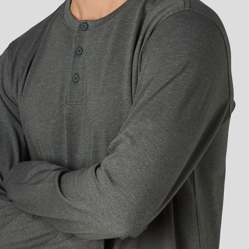 X Cotton Henley