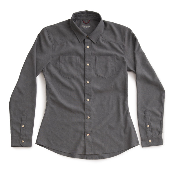Women's AirLight Western Shirt™ — Smoke