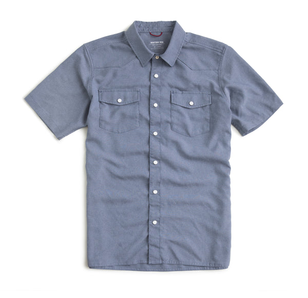 AirLight  Shop Shirt- Washed Denim