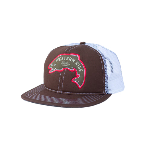 Riverside Ranch Hat Front- Coffee