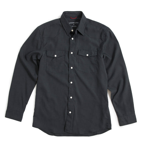 AirLight Western Shirt™ — Graphite