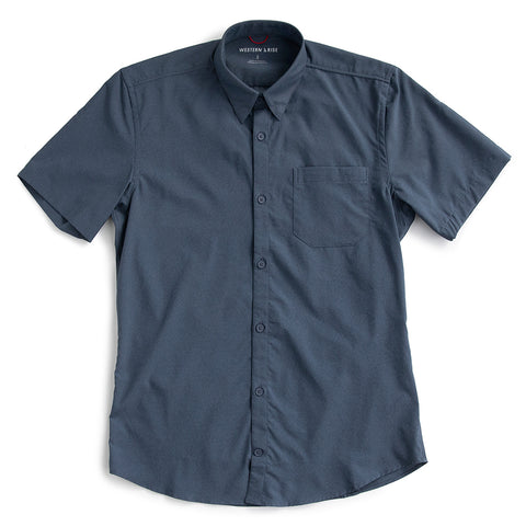 AirLight Short Sleeve Shirt - Indigo