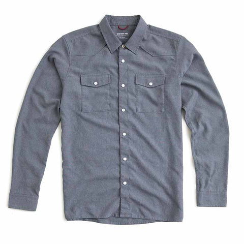 AirLight Western Shirt™ — Smoke