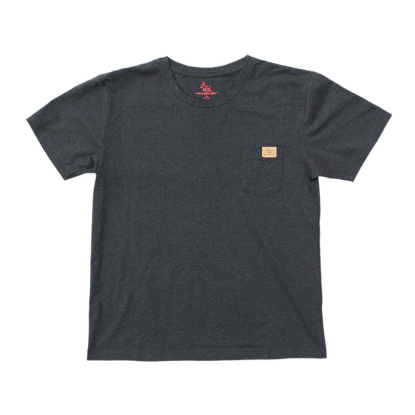 Pardee Pocket T-Shirt™ — Heather Black