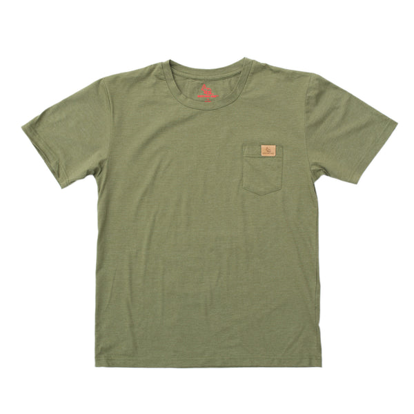 Pardee Pocket T-Shirt™ — Heather Green