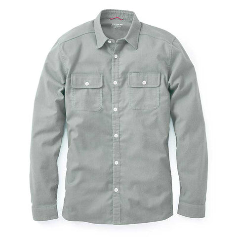 Elkton Stretch Wool Flannel - Grey
