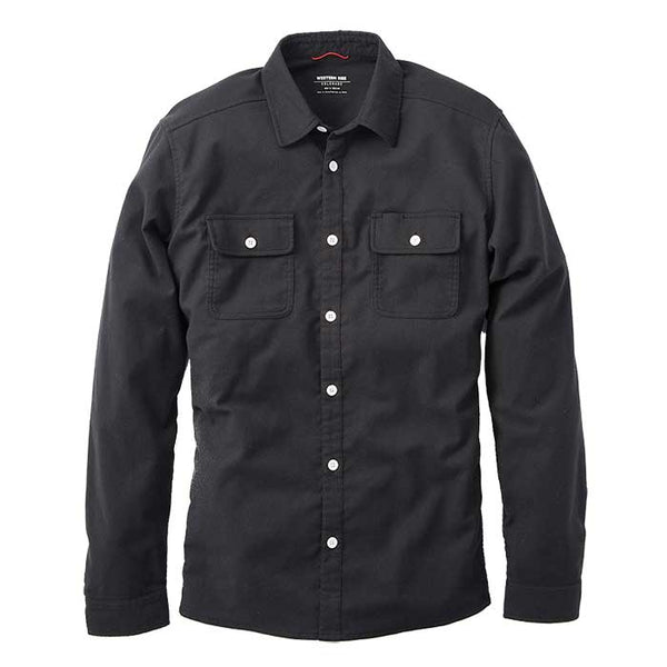 Elkton Stretch Wool Flannel - Black