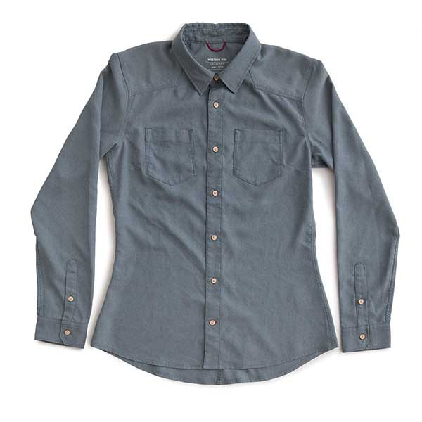 Women's AirLight Western Shirt™ — Washed Denim