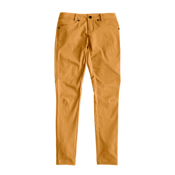Women's AT Slim Rivet Pants — Sandstone