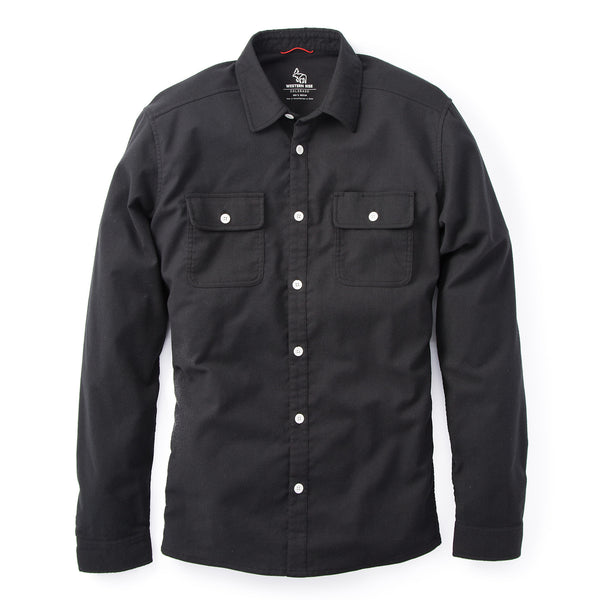 Elkton™ Stretch Flannel — Black