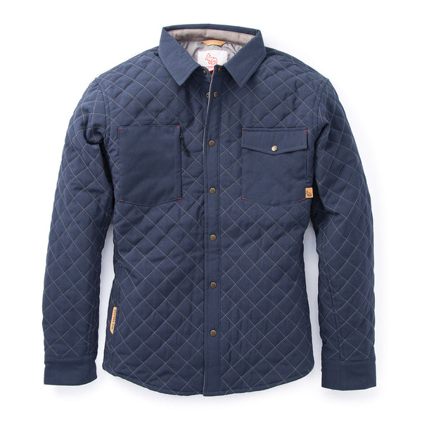Caribou Quilted Shirt™ — Midnight