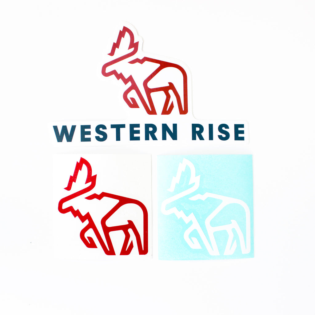 Western Rise Sticker Pack