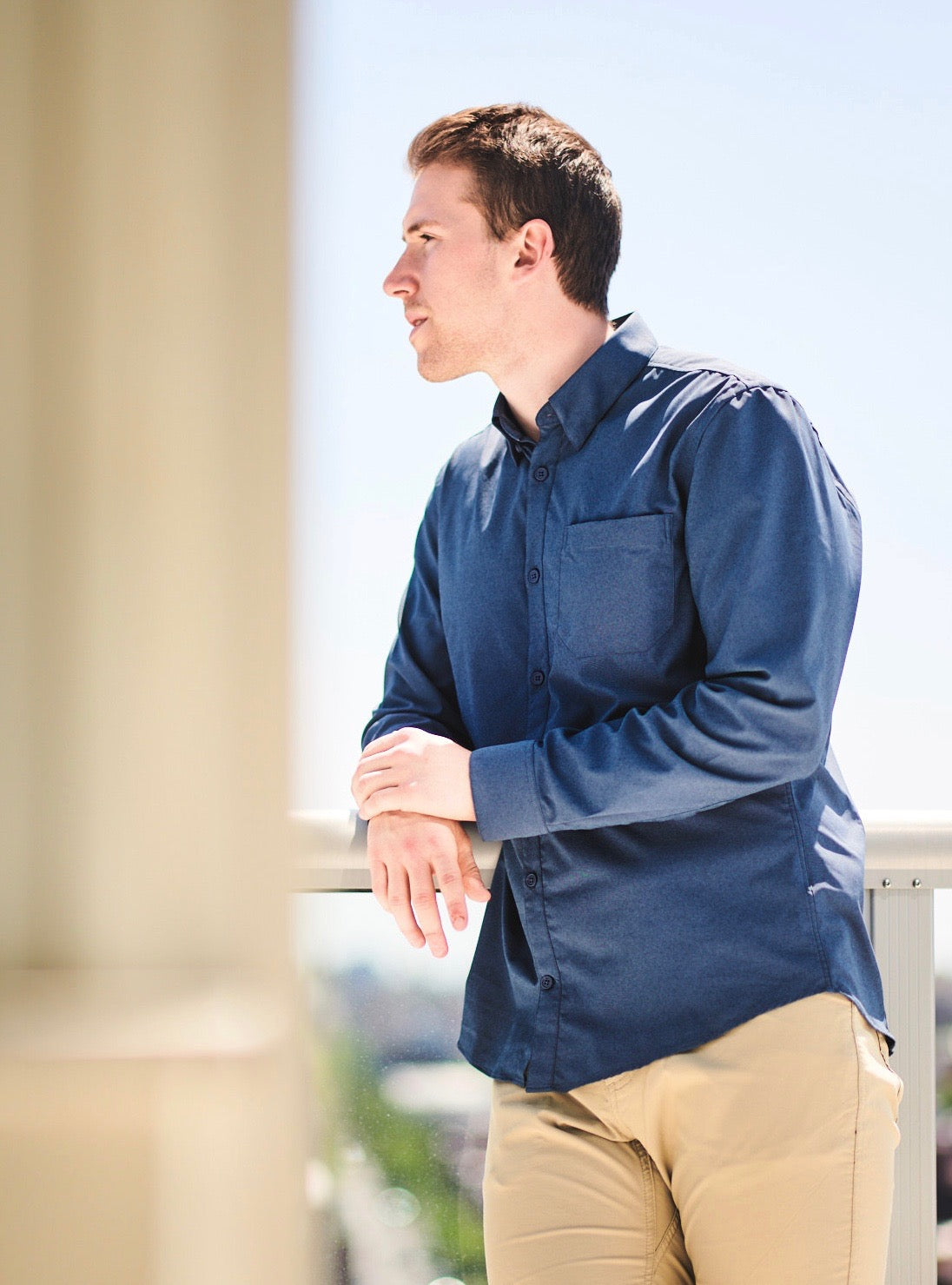 Western Rise AirLight Button Down