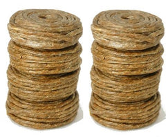 FlicWic Hemp Wick Refill Spools (8 Pack) 96' Total