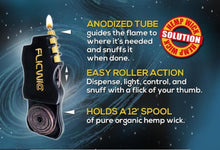Load image into Gallery viewer, [Hemp Wick Lighter Dispenser Case] - FlicWic Store