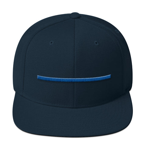 ShowingBlue Thin Blue Line Snapback (Dark Navy)