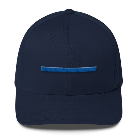 ShowingBlue Thin Blue Line Fitted (Dark Navy)