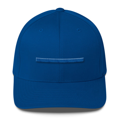 ShowingBlue Thin Blue Line Fitted (Royal Blue)