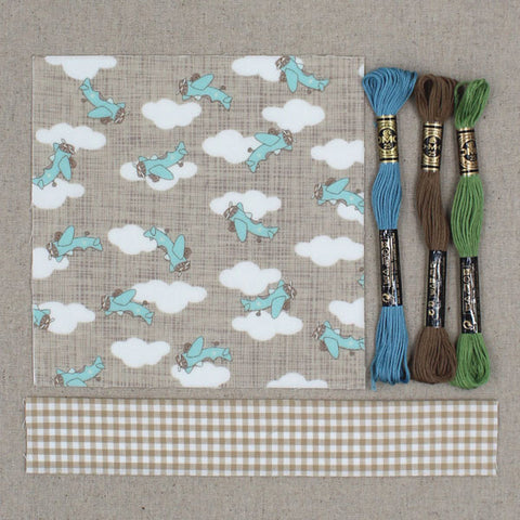 Vintage 32 baby quilt kit