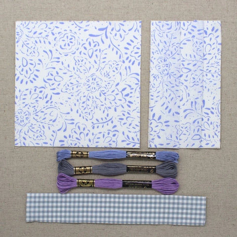 Periwinkle 18 Fabric