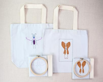 tote bag kits