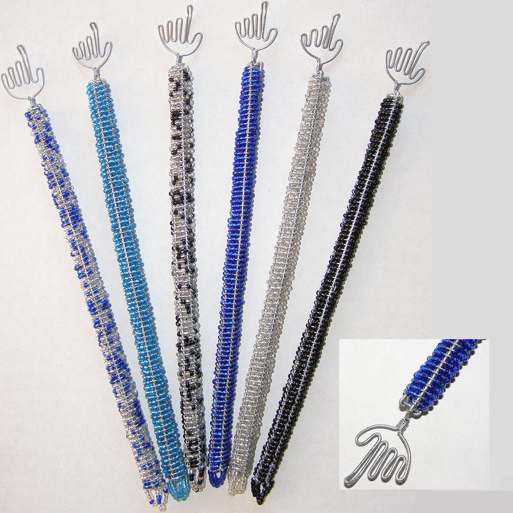 Wire and Bead Torah Yad