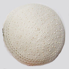 Women's Kippah - Cream