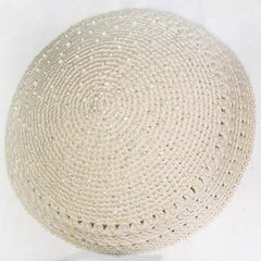 Women's Kippah - White