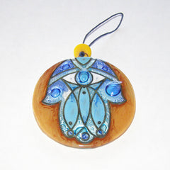 Hamsa Sun Catcher - Eye