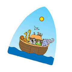 Glass  Night Light - Noah's Ark