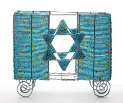 Beaded Matzah Holder