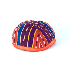 Fabric Kippah - Burnt Orange