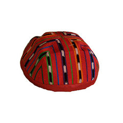 Fabric Kippah - Red