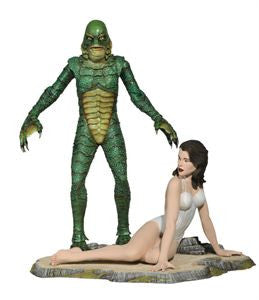 Universal Monsters Retro Diamond Select Deluxe Figure - Creature from the Black Lagoon