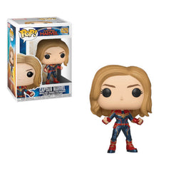 Funko Marvel: Captain Marvel POP Figure