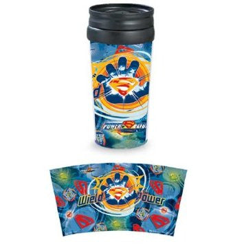 "Monogram Superman ""Wield The Power"" Movie Travel Tumbler"