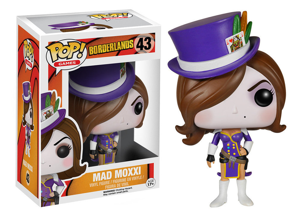 Funko Games: Borderlands Mad Moxxi POP Figure